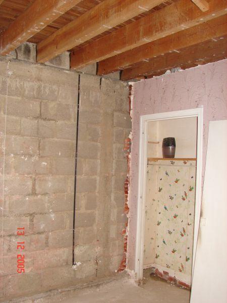 travaux dans l extension la maison du coudray. Black Bedroom Furniture Sets. Home Design Ideas